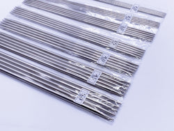 W015 Knitting Needles 2mm, 2.5mm 3mm, 3.5mm, 4mm, 5mm Dolly Size 20cm Long Doll