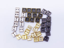 B119 4mm Square Buttons Micro Mini Buttons Tiny Buttons Doll Buttons Doll Sewing