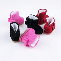 F032 Cute Winter Short Ankle Boots Doll shoes For Blythe Momoko Licca Azone Lati