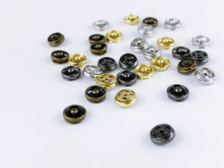 B025 6mm Metal Snap Fastener Buttons Doll Clothes Sewing Craft Supply Blythe BJD