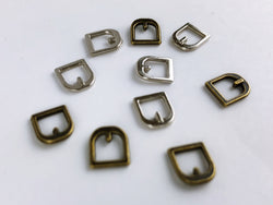B044 Mini Old Metal Buckles Doll Clothes Purse Making Doll Sewing Supplies