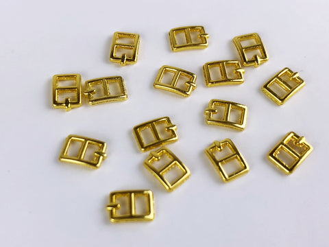 B038 Tiny Mini Buckles Doll Sewing Doll Craft Supply Doll Clothes Making
