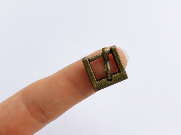 B055 Old Metal Mini Buckles Doll Clothes Purse Making Doll Sewing Supplies Doll Craft