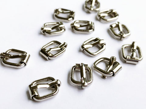 B061 6mm× 9mm Mini Metal Buckles Doll Sewing Supplies Doll Clothes Craft