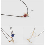 Leaf Natural Stone Necklace