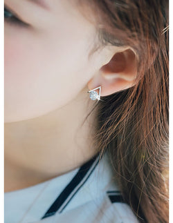 Reina Stainless Steel Earring