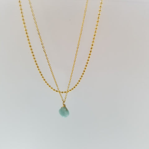 Adeline double layered necklace
