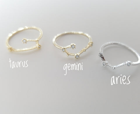 Birth Constellation Ring - artsyco