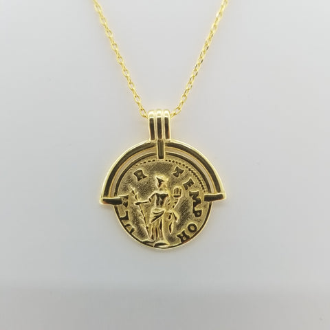 Rome Coin Necklace