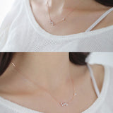 Esther Constellation Silver Necklace