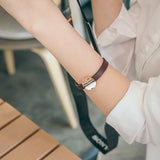 Madeleine Leather Bracelet