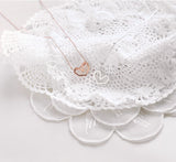 Ella Heart Silver Necklace - artsyco
