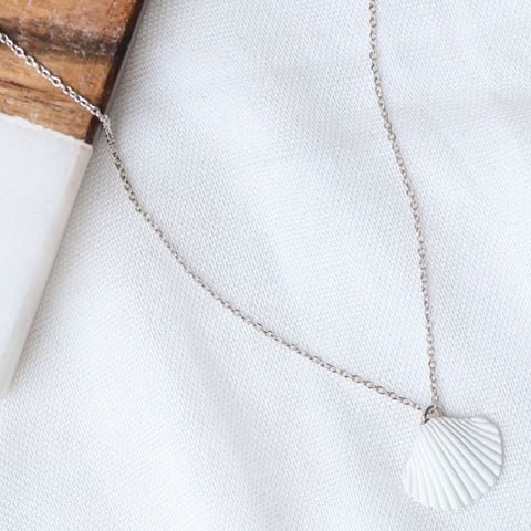 Scarlette Shell Necklace