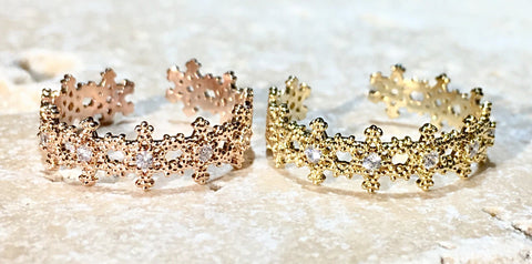 Flower Flutter Ring