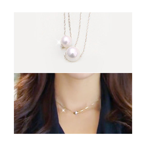 Abby Single Pearl Necklace