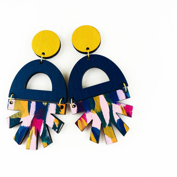 GLEBE Tilt Drop Earrings