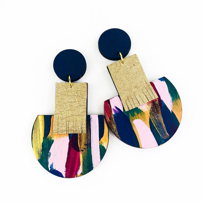 GLEBE Calder Drop Earrings