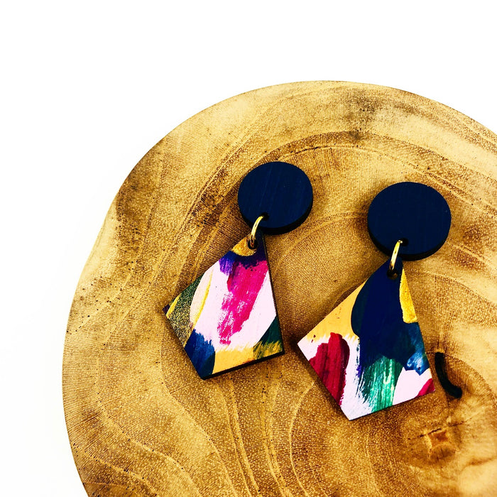 GLEBE Timor Drop Earrings (Pattern)