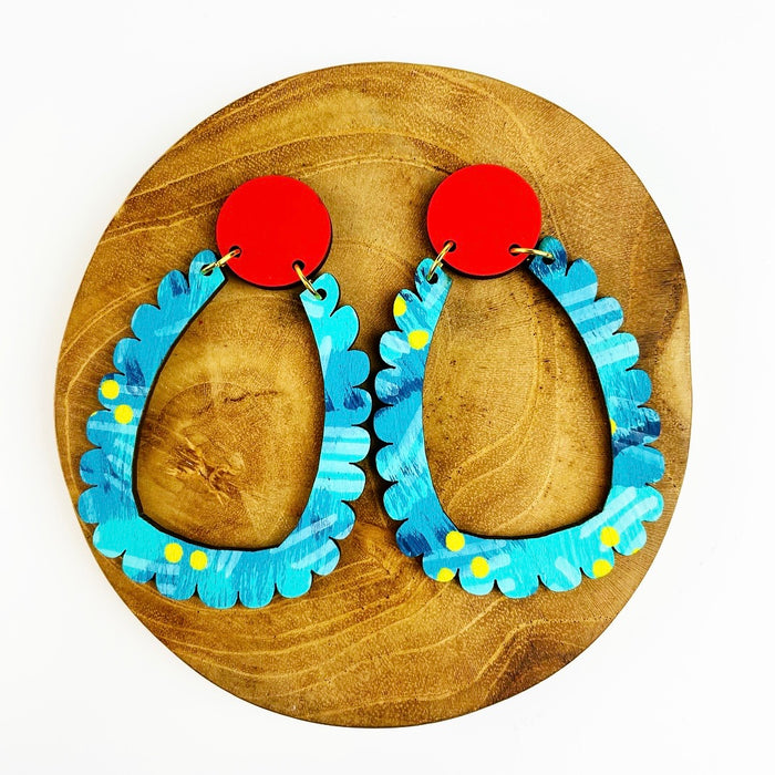 BENDALONG Daydream Drop Earrings (Pattern)