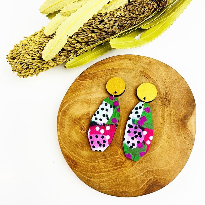BABINDA Mayer Drop Earrings (Pattern)