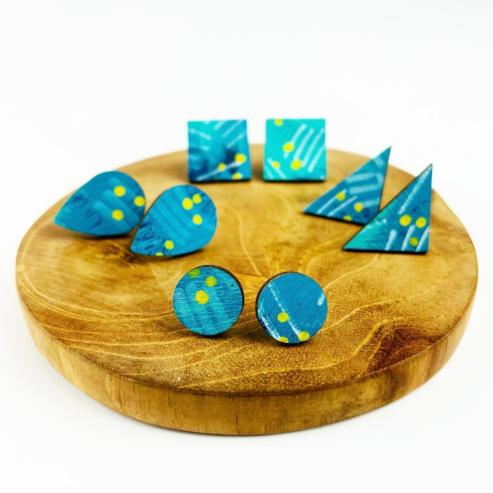 BENDALONG Hand Painted Studs