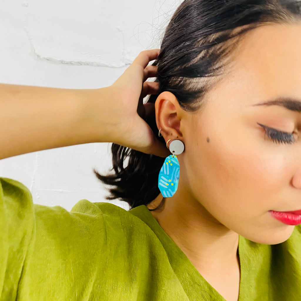 BENDALONG Mayer Drop Earrings (Pattern)