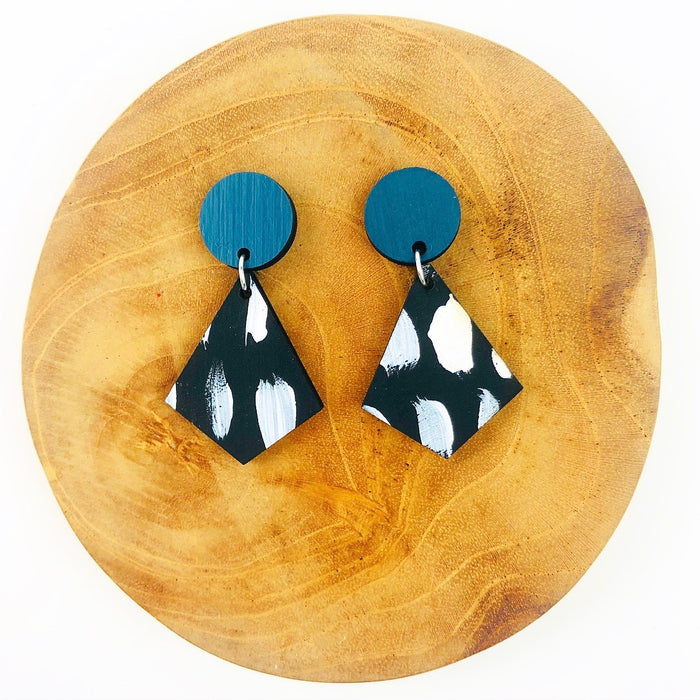 SUBIACO Timor Drop Earrings (Pattern)