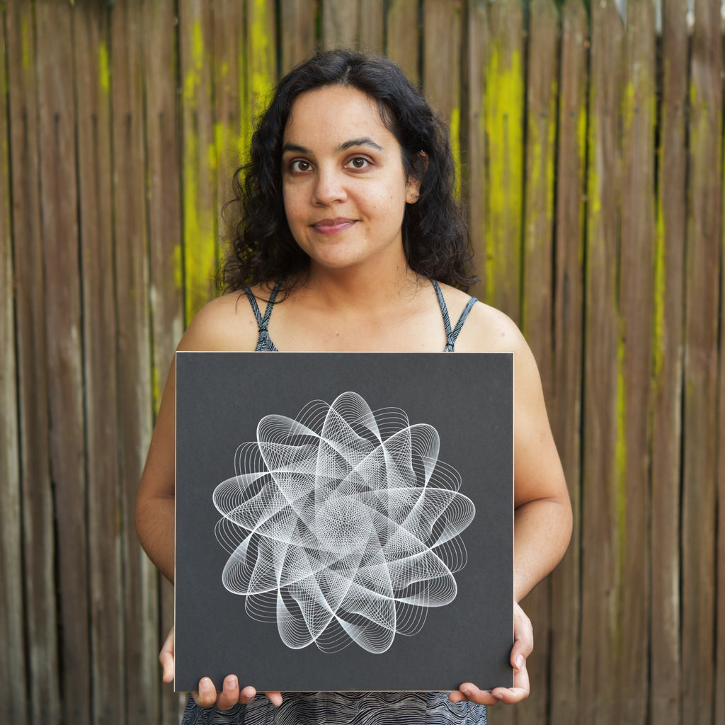 michelle chandra of dirt alley design, generative artist