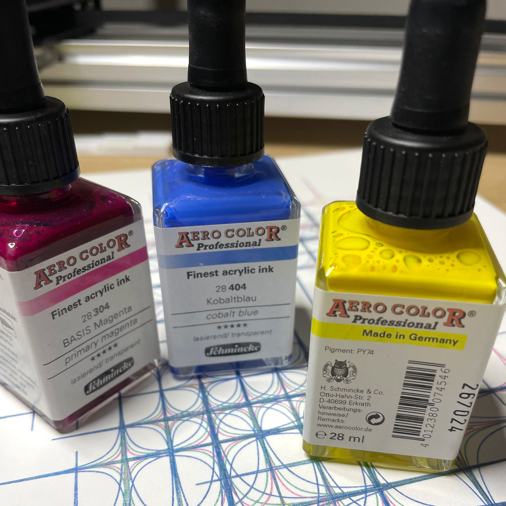 aero color inks
