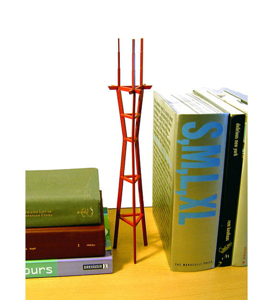 Aluminum Sutro Tower by Metropolitan Craft