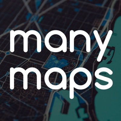 many maps by rachel binx