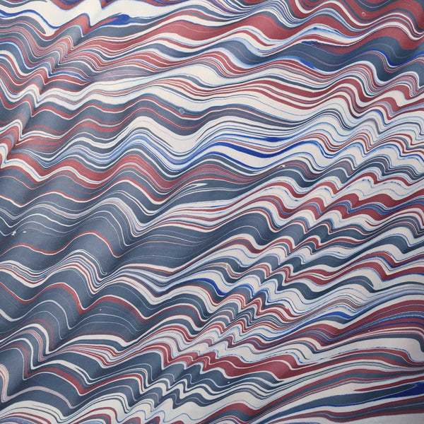 spanish wave marbled paper
