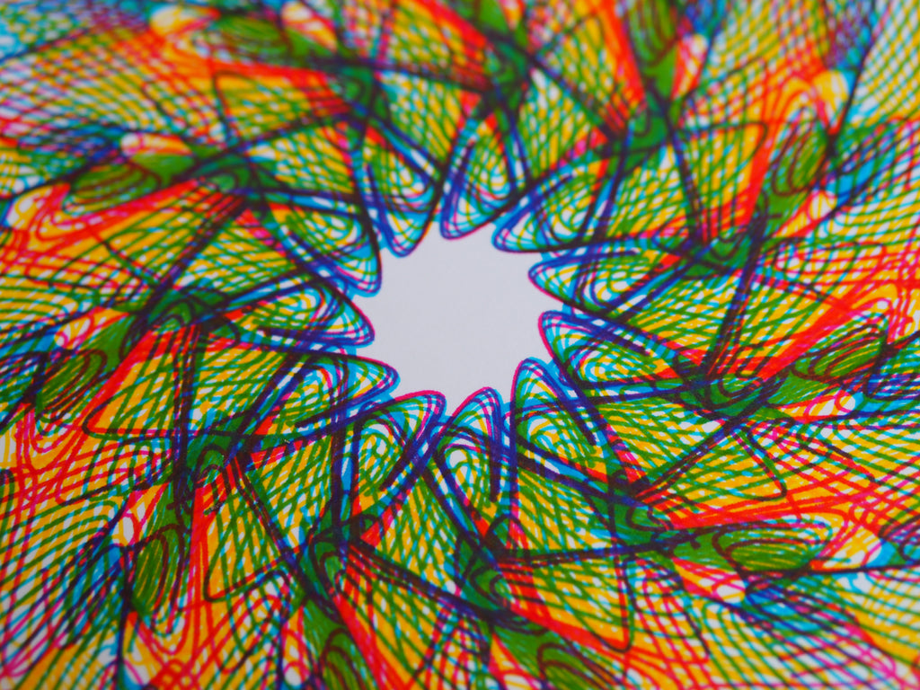cmyk print axidraw pen plotter generative art spirograph design programmatic art creative code
