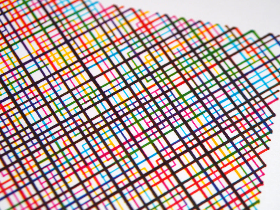 10 Print Rainbow Color Field - CMYK - Limited Edition of 5