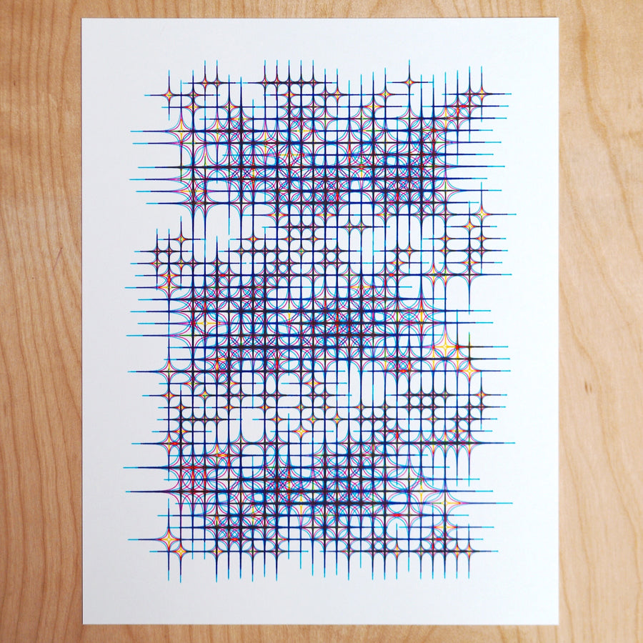 10 Print Star Cluster Print - Limited Edition of 5