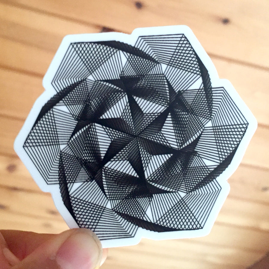 Star of David Stickers - 3in