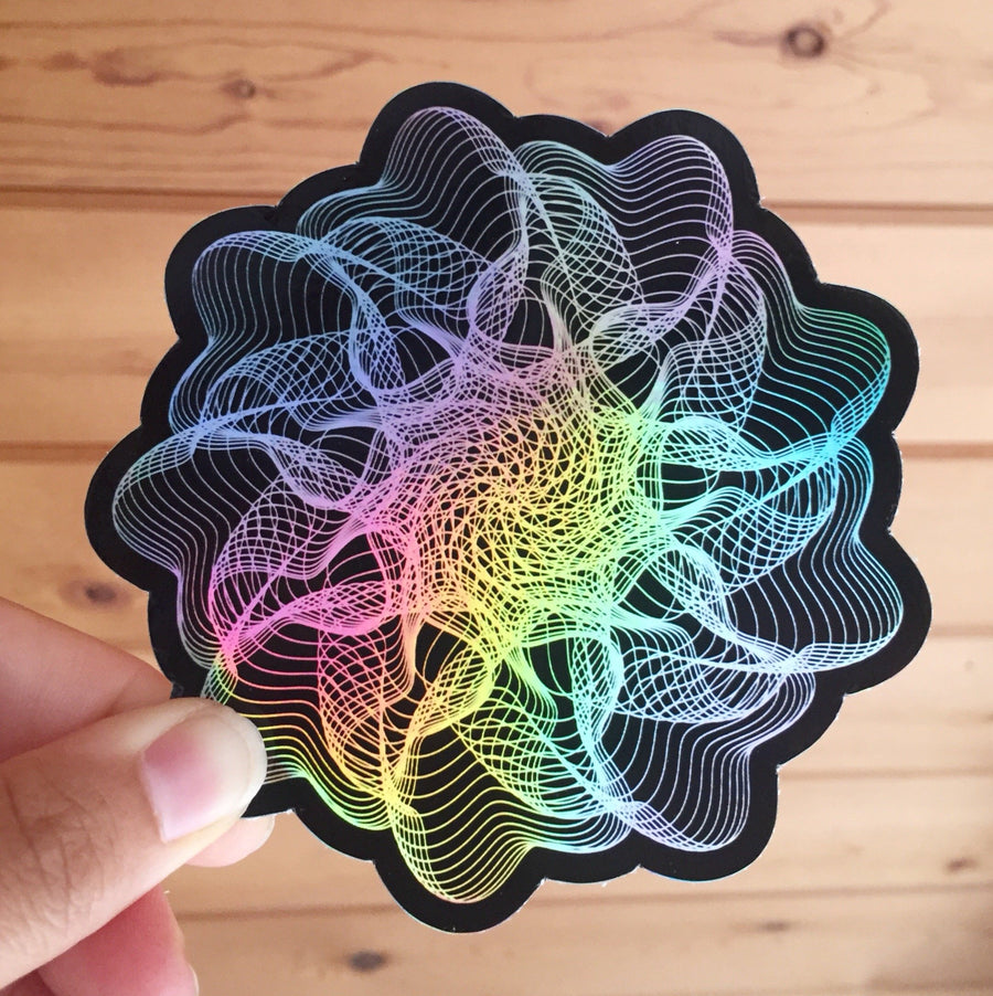 Generative Stickers - 4 inches