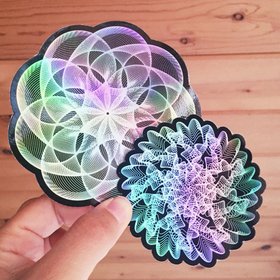 Pincushion Stickers - 4in
