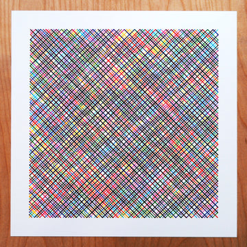 10 Print Rainbow Color Field - CMYK