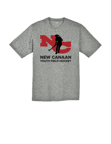 New Canaan Youth Field Hockey Youth Short Sleeve Performance Shirt