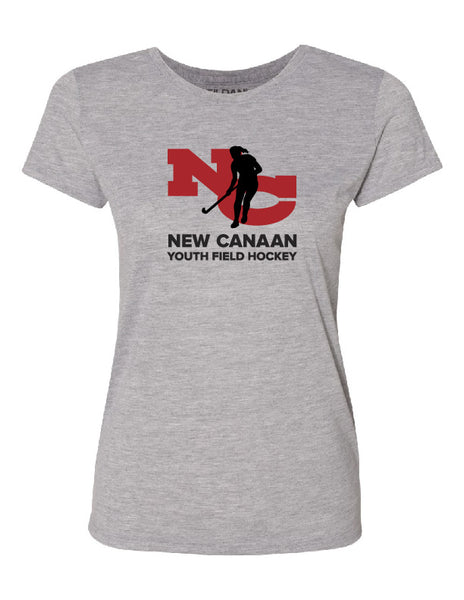 New Canaan Youth Field Hockey Adult Short Sleeve Performance Shirt