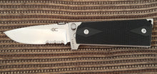 M1911 Standard Folding Knife, partially serrated polished 440C blade