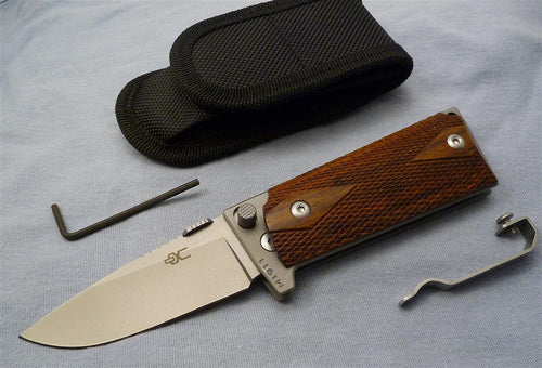 M1911 Compact Folding Knife, bead blasted 440C blade