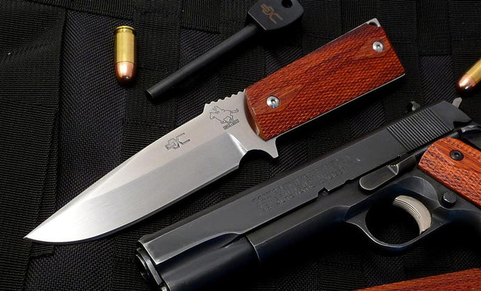 M1911 Fixed Blade, polished CPM-154