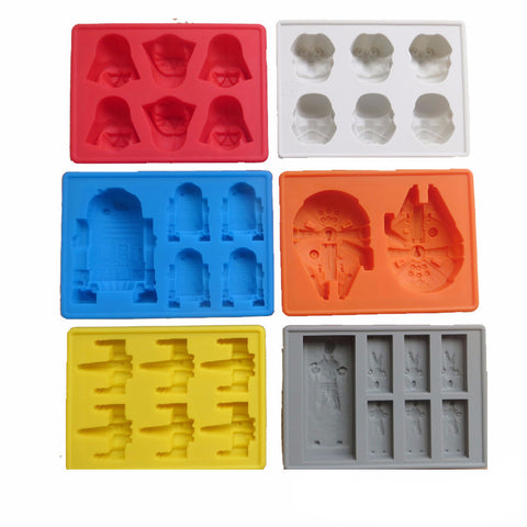 The Original Star Wars Ice Cube Trays (Free Shipping)