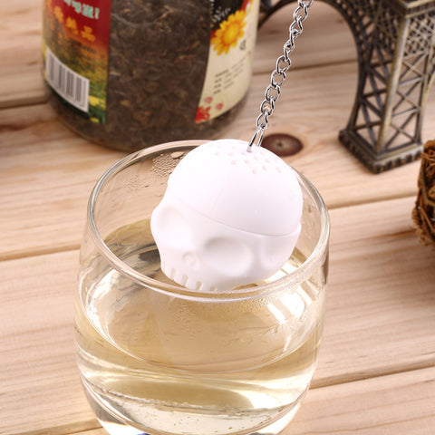 Skull Loose Leaf Tea Infuser and Strainer