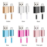 Lightning iPhone / Android USB Charger (6 Different Colors)