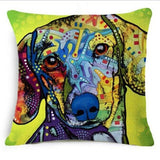 Custom Painted Dog Pillows (Multiple Breeds) [FREE Shipping]