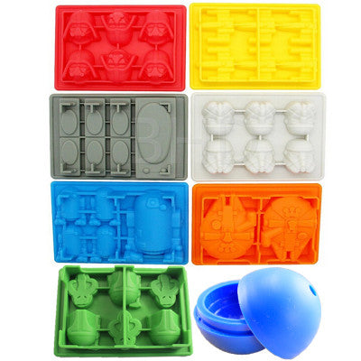 Star Wars Ice Tray - 8 Piece Set