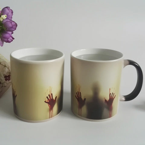 Walking Dead Zombie Mug (Heat Sensitive)